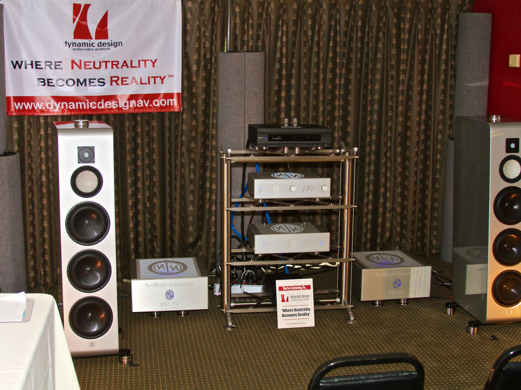 w/Dynamic Design AV, EAR-USA, Marten, ModWright Instruments and, Stillpoints, LLC - photo courtesy of Dynamic Design AV