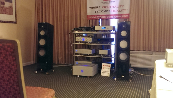 w/Dynamic Design AV, Marten, EAR-USA, ModWright Instruments, Stillpoints, LLC - photo courtesy of Dynamic Design AV